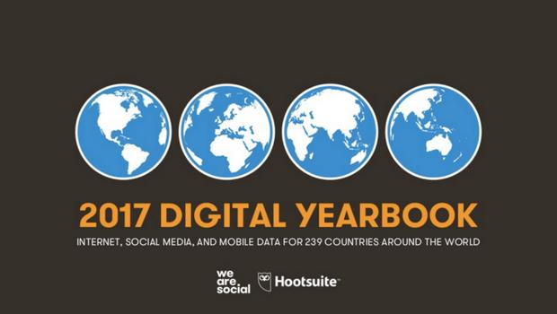 DIGITAL in 2017: il report su digital, social media e mobile di WeAreSocial & Hootsuite