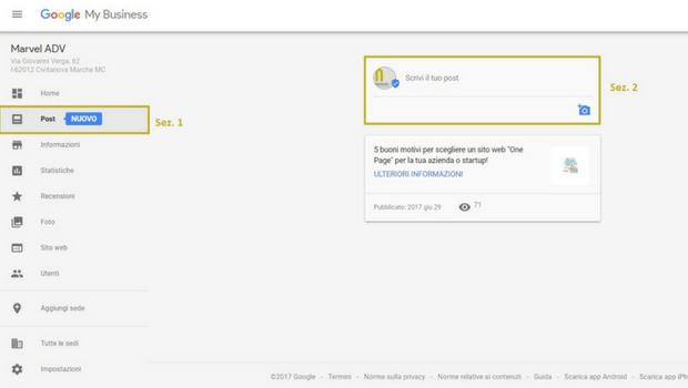 Perchè pubblicare i post su Google My Business: caratteristiche e funzionalità della nuova feature!